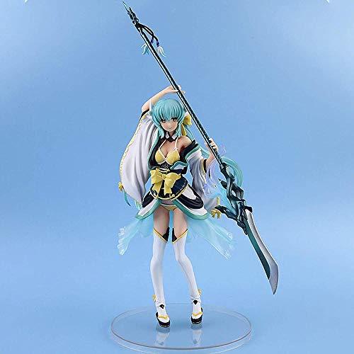 RZSY öde/stor order tjänare kiyohime lancer skrivbord prydnad action figur animerad karaktär staty för gåvor och dekoration