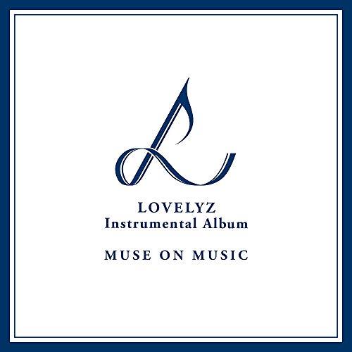 LOVELYZ – Muse on Music (álbum instrumental) [edición limitada] 3CD + folleto de partitura + pico de guitarra + tarjeta de garantía