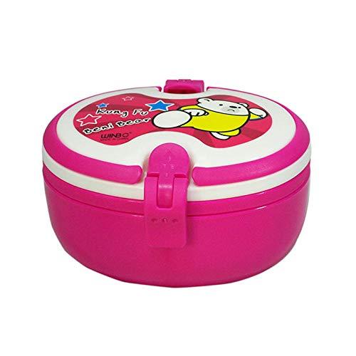 Gaoxiaolong Lunch Box Ellittico In Plastica Lunch Box Per Studente Ambientale @ 301-500Ml_Doppio Strato
