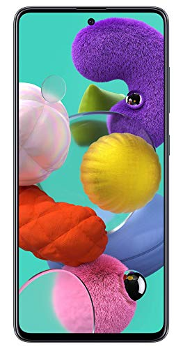 Samsung Galaxy A51 (Black, 6GB RAM, 128GB Storage) with No Cost EMI/Additional Exchange Offers