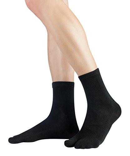 Knitido Tabi Kurzsocken, Kurze, dünne Zwei-Zehen-Socken aus Baumwolle, 1 Paar, Unisex