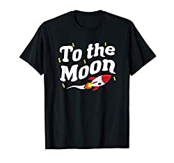 To The Moon - Wall Street Stocks - Game Stonks Bets Memes T-Shirt