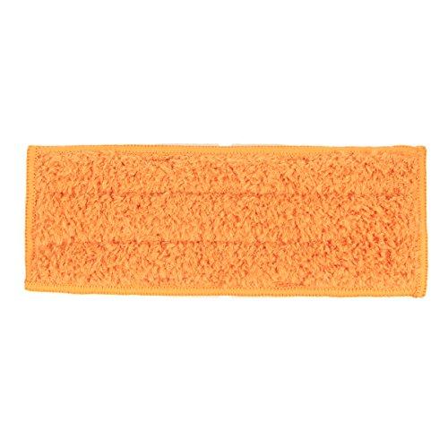 Tutoy Waschbar nass trockenen feuchten wischen Pads Tuch Ersatz für iRobot Braava Jet 240 241 - Orange