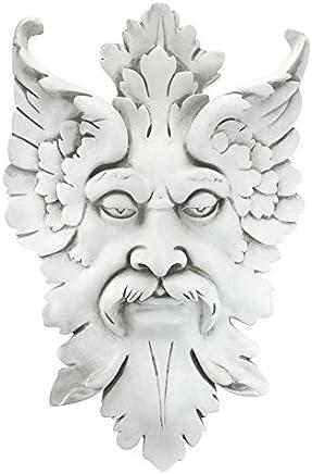 Design Toscano Castle Gladstone-Blattmaske T/ürklopfer aus Eisenguss