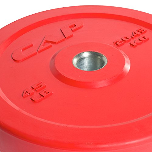 CAP Barbell Olympic Bumper Plates