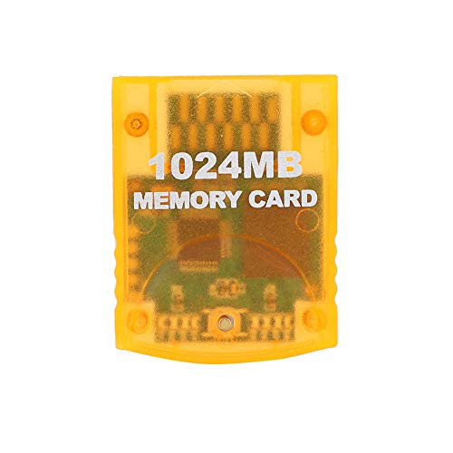 sjlerst Tarjeta de Memoria para Wii, para Wii Gamecube, 1024 MB de...