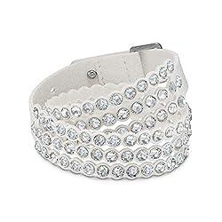 White SWAROVSKI Power Collection Bracelet