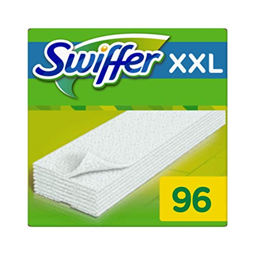 P G Professional Swiffer Lingettes Balai Attrape Poussière Xxl Pour Les Balais Swiffer 6 X 16 Pièces 1er Pack 1 X 86 Pièces