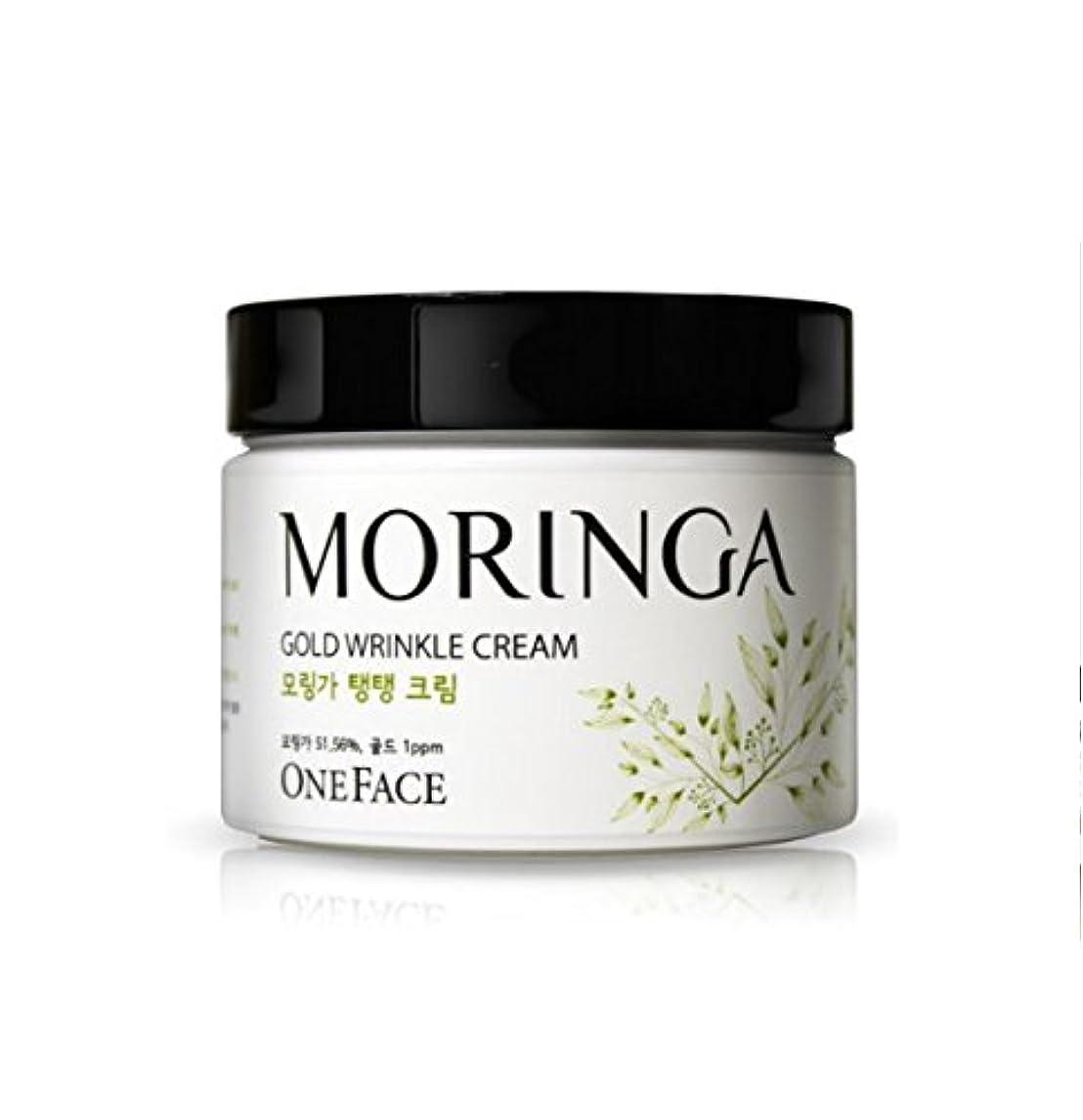 クルーズ前文外側ONEFACE モリンガ ゴールド リンクル クリーム / Moringa Gold Wrinkle Cream (100ml) [並行輸入品]