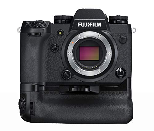 Fujifilm X-H1 Fotocamera Digitale da 24 MP, Stabilizzatore IBIS, Sensore X-Trans CMOS III APS-C, Display Touch Orientabile + Fujifilm VPB-XH1 Vertical Power Booster Grip, Nero