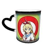 Da Shu Nisekoi Kirisaki Chitoge Blue Eyes School Uniform Personalized Color Changing Mug In The Sky Funny Coffee Mugs Gifts For Family Lovers Friends