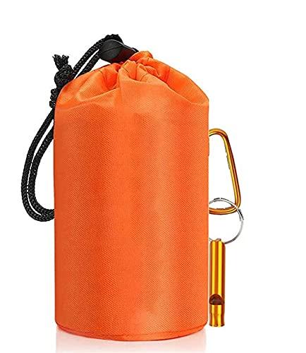 WXYNT Camping Mantenga un Saco de Dormir Caliente, Aventura al Aire Libre, Senderismo, Camping, frío, Viento, Impermeable, luz y Bolsa de Dormir de Emergencia portátil (Color : H)