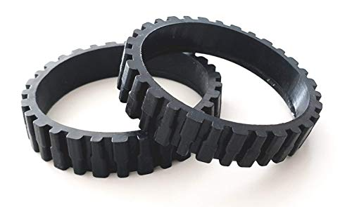 EPIEZA Neumáticos Ruedas de Goma para CECOTEC Conga 990 y 990 Excellence. y ECOVACS N79, N79S