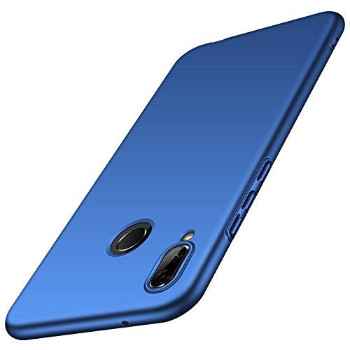 Almiao Huawei P20 Lite Funda, Funda Protectora de teléfono Delgada Minimalista Protector para Huawei P20 Lite (Azul Liso)