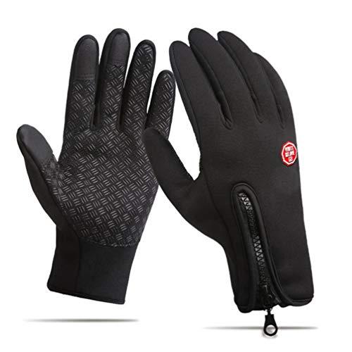 Heatigo Wasserdichter Touchscreen Handschuhe Fahren Radfahren Handschuhe Anti-Rutsch Outdoor Sport Handschuhe für Herren Und Damen (M)