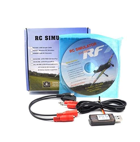 Part & Accessories Wireless simulator conver Freerider 22 in 1 RC USB Flight Simulator Cables support Realflight G7 phoenix 5.0 For for FPV Drone - (Color: Wireless simulator)