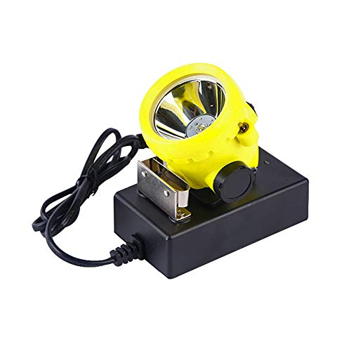 Hunting friends Safety Mining Headlamp, Led Mining Cap Hard Hat Rechargeable Coal Mine Lamp Explosion Proof Mining Light Waterproof BK2000 Outdoor Searchlight