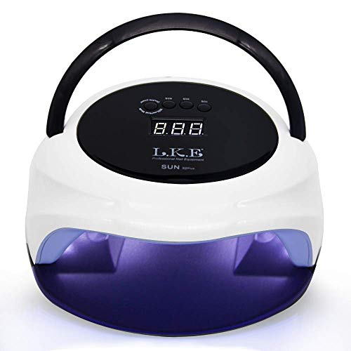 72W LED UV Nail Lamp Dual Mode Nail Dryer for Gel Shellac Nail Lamp with...