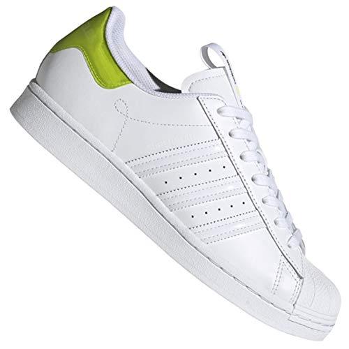 adidas Uomo Superstar Sneaker Bianco, 44