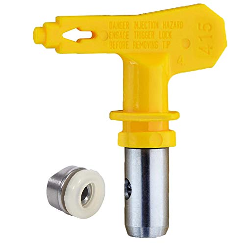 Jewboer Reversible Spray Tip Nozzle for Airless Paint Spray Guns and Airless Sprayer Spraying Machine (215)