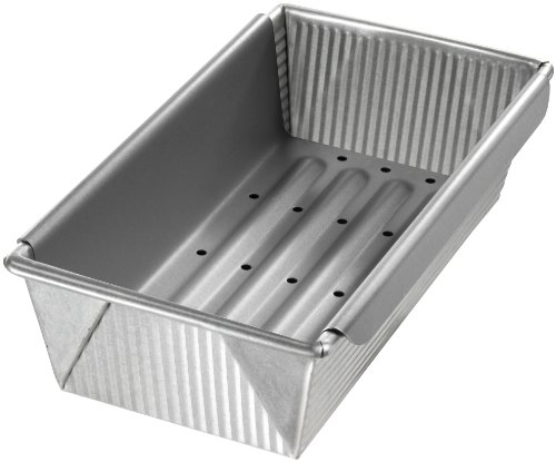 USA Pan Bakeware Aluminized Steel Meat Loaf...