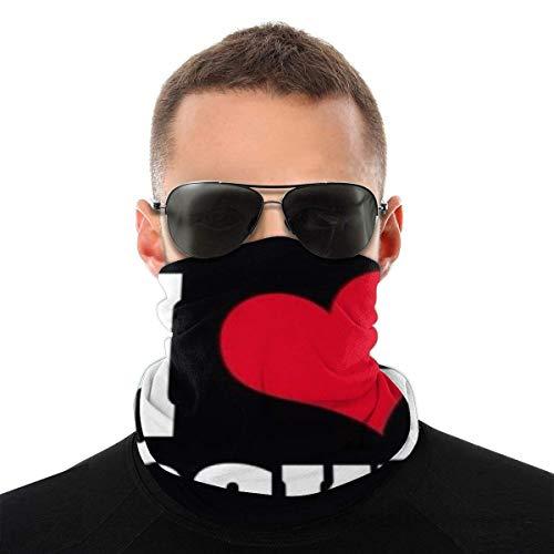 Bandeau, écharpe Bandana sans couture élastique Hockey Love, série de chapeaux de sport de résistance aux UV pour Yoga randonnée équitation moto