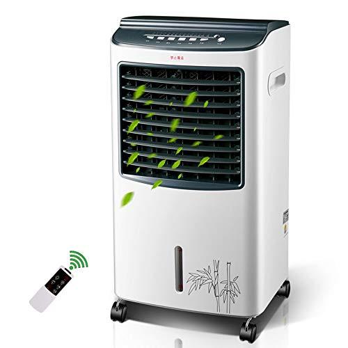 WLJ Klimaanlage Kühlung und Heizung Doppelkühlschrank Kleiner Wasserkühler Silent Household Energiesparende Luftkühler-Kühlung Luftkühler Ventilator