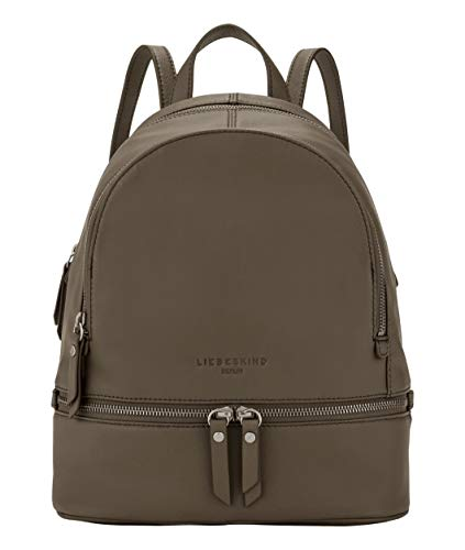 Liebeskind Berlin Alita Backpack, Bagaglio a Mano Donna, Verde (Dusky Olive), 11 385 Cmx 341 Centimeters (B x H x T)