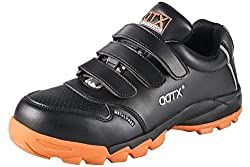 DDTX Unisex Smash Proof Work Shoes Electrical Hazard Protection Electrician Shoes Black