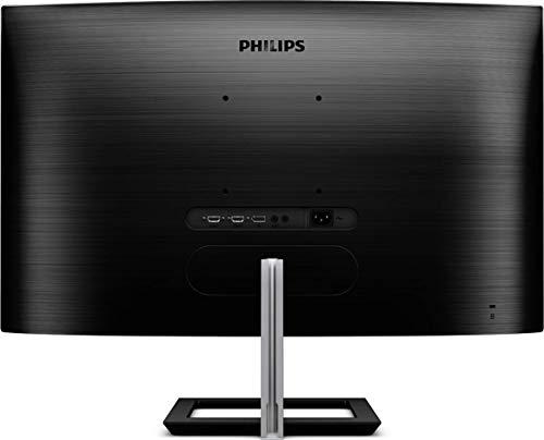 Philips 328E1CA - 32 Zoll UHD Curved Gaming Monitor, 60 Hz, 4ms, AdaptiveSync (3840x2160, HDMI 2.0, DisplayPort) schwarz