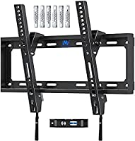 Mounting Dream Tilt TV Bracket Wall Mount, For Most 26-55 inch Flat and Curved TVs up to VESA 400x400mm and 40 KG, Ultra...