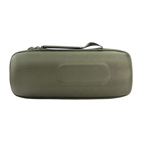 co2CREA Hard Travel Case for JBL Charge 4 / JBL Charge 5 Waterproof Bluetooth Speaker (Green Case)
