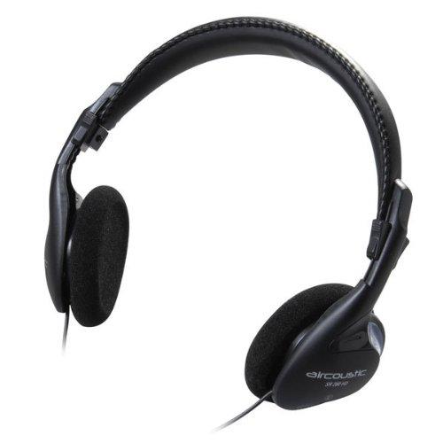 Aircoustic SR280HD Komfort Stereo Kopfhörer (Kabellänge: 3 m) schwarz