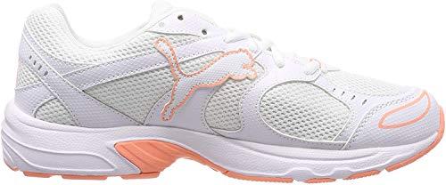 Puma Unisex-Erwachsene Axis Fitnessschuhe, Weiß White-Bright Peach, 36 EU