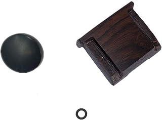 LXH Bottone in legno con rilascio morbido Finger Touch + Wood Coperchio per slitta a caldo per Fujifilm X100F X100S X100T ...
