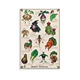ASKSD Poster Mandrake The Root People Leinwand-Kunst-Poster