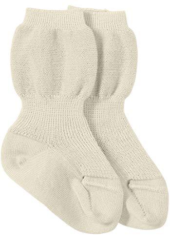 hessnatur Baby Mädchen und Jungen unisex Socke aus reiner Bio-Merinowolle natur 23-26