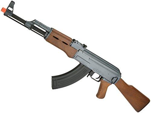Evike Airsoft - CYMA Sport Airsoft AK47 AEG Rifle w/Simulated Wood Furniture (Package: Gun Only) - (23921)