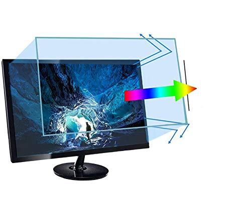 Lyaxm Anti-Blaulicht-Bildschirmfilter für 81,3 cm (32 Zoll) Breitbildschirm-Monitor, blockiert übermäßiges schädliches blaues Licht, reduziert Ermüdung der Augen und Belastung der Augen.