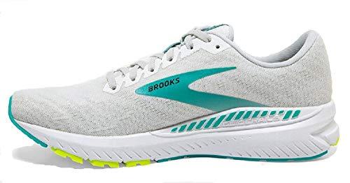 Brooks Womens Ravenna 11 Running Shoe - White/Nightlife/Atlantis - B - 5.5