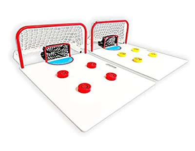 Sauce Toss: The Premium Hockey Sauce Pass Game for Playing, Passing, Training, Trick Shots and More - Tailgate Friendly and Portable Hockey Game, Supreme from Sauce Toss