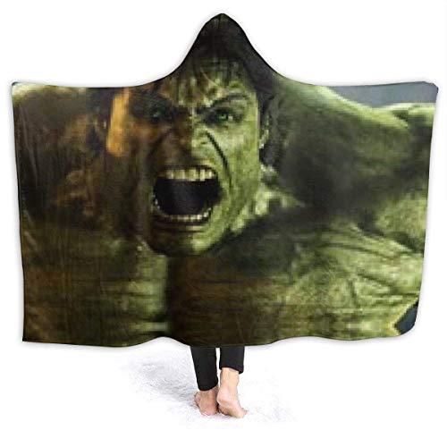 Stylish Soft Hooded Blanket,Huvlk 6 Unisex Warm,Komfortabel,Fleecedecke Für Erwachsene Und Kinder,50X40 Zoll