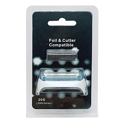 Accessoire pour rasoir Braun 20s/2000 Series Cruzer3, 4, 5, compatible avec les rasoirs Freecontrol et série 2000, remplacement de la feuille et de la coupe
