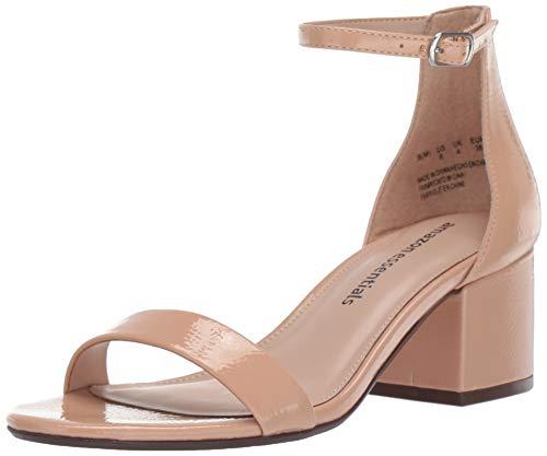 Amazon Essentials Women's Nola Heeled Sandal, BLH, 9 B US