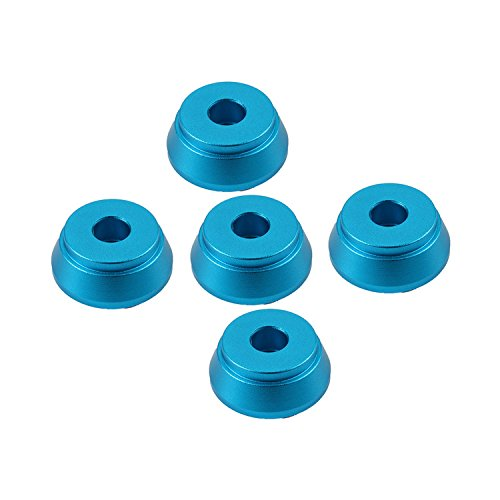 Vanki 5 Pack Metal Stand Base Holder for 510 Thread Tank,Blue
