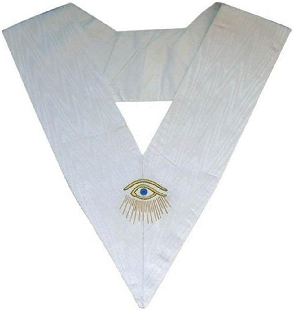 Masonic Memphis Misraim Collar Eye with Rays- 28 Degree