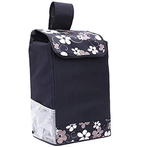 sarazong Blue Car Push Car Bag, Borsa per Carrello/Borsa di Ricambio per Trolley Borsa di stoccaggio Impermeabile in Tessuto Oxford 40L