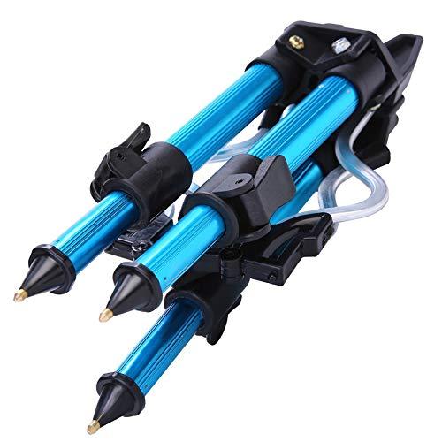 Gaodpz Trípode Soporte de aleación de Aluminio telescópica Pesca sostenedor del trípode del Soporte de Pesca de la Noche luz de la Pesca de Rod Bracket (Size : 340g)