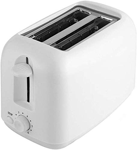 L.W.S tostadora Tostadora de 2 rebanadas, recalentar, descongelar, 6 configuraciones para dorar Bandeja extraíble para Migas Ranuras Extra Anchas Frío