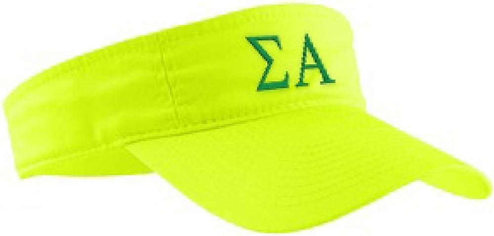 Sigma Alpha Greek Letter Visor